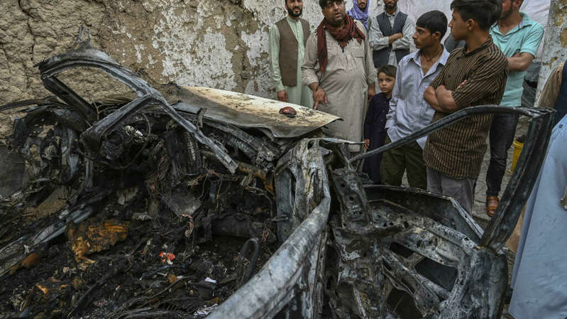 L'armée américaine reconnaît que sa dernière frappe à Kaboul a tué par erreur dix civils
