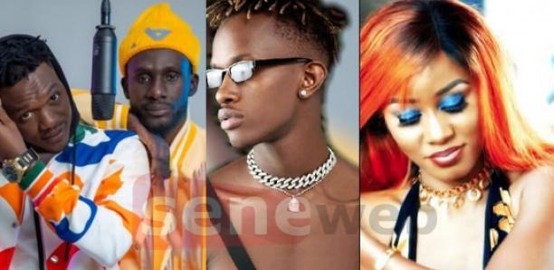 Akhlou Brick, Samba Peuzy et Queen Biz: Le trio mène la danse sur YouTube