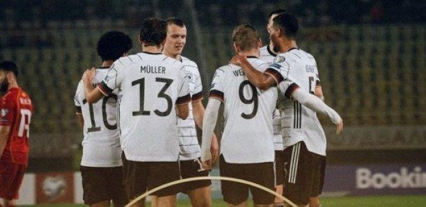 Zone Euro : L'Allemagne, première qualifiée pour la coupe du monde Qatar 2022