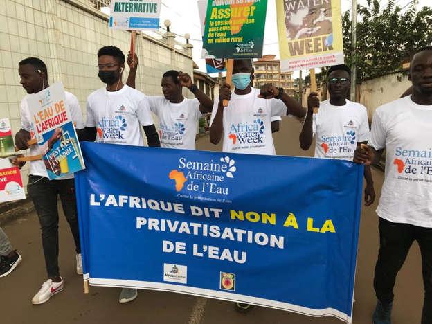 Cameroun – privatisation de l'eau : une manifestation contre la Banque mondiale à Yaoundé